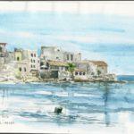 Gierolimenas, Grèce - Aquarelle