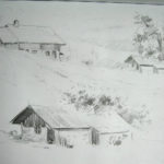 Chalets - Crayon