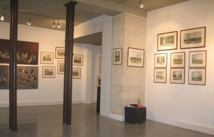 Galerie Villedo à Paris, 2010.