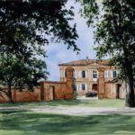 Château de Prunet - Aquarelle - A6531