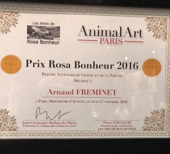 Salon d'Auteuil 2016 - Le prix Rosa Bonheur 2016