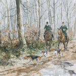 Equipage Pic'Hardi Chantilly - Aquarelle - 20x30 - A8480