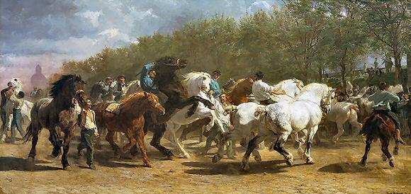 Marché aux chevaux - Rosa Bonheur
