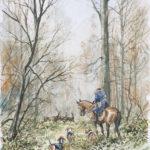 R. Trois Forêts - Aquarelle - 30x20 - A4646 - VA