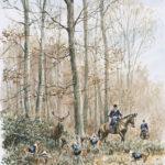 R. Trois Forêts - Aquarelle - 30x20 - A4665 - Vendu