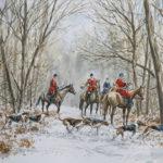 Le bien aller dans la neige - Aquarelle - 20x30 - A1580