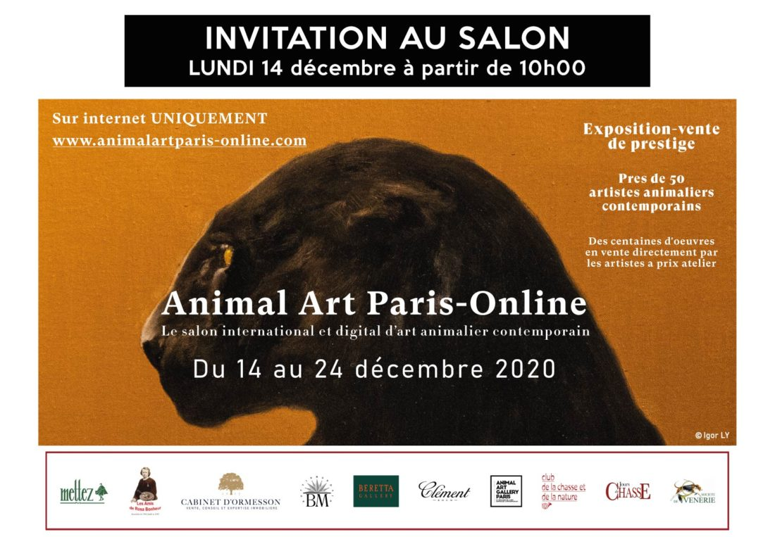 Invitation ANIMAL ART online 2020
