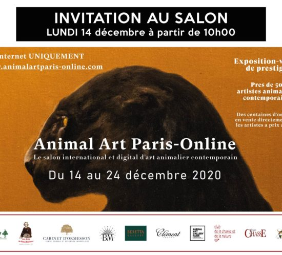 Invitation ANIMAL ART online 2020